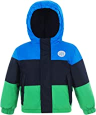 Skijacke Jungen Wasserdicht - Kinder Regenjacke Softshelljacke mit Kapuze Winter Schneejacke Winddicht Atmungsaktiv Regenmantel
