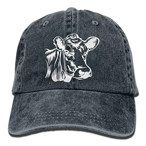 Baseball Cap Cow Clip Art-1 Men Women Snapback Caps...