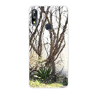 Aksuo for Asus ZB631KL Slim Shockproof Case, Exquisite Pattern Design Clear Bumper TPU Soft Flexible Rubber Silicone Skin Back Cover - Q-Asus ZB631KL-57