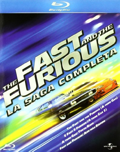Pack The Fast And The Furious - La Saga Completa [Blu-ray]