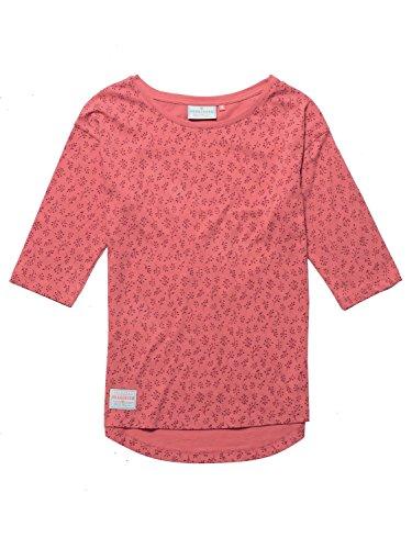 Brakeburn Damen T-Shirt, Einfarbig Rose