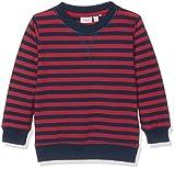 NAME IT Jungen Sweatshirt Nitsoron LS Swe Top MZ Ger, Mehrfarbig (Brick Red), 98