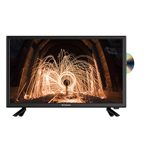 Westinghouse 24 inch HD LED TV DVD Combi with Freeview - Black (2019 Model)
