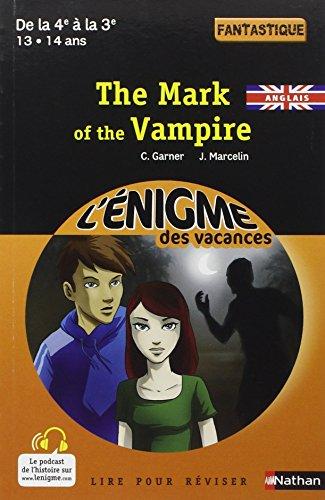 The Mark of the Vampire par Charlotte Garner, Jacques Marcelin