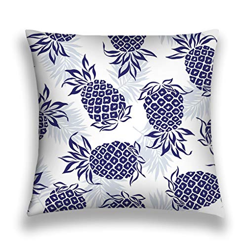 Tyuyui Pillow Cases Pattern Pineapple i Drew Design Painting Continues Repeatedly Vector Work Grey tempurpedic