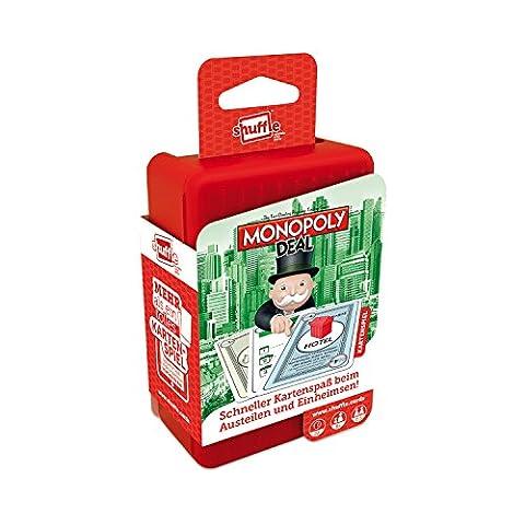 ASS Altenburger 22502005 - Shuffle, Monopoly Deal (Monopoly Kompakt)