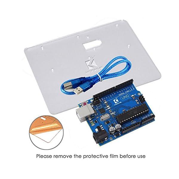 511v%2BwDswWL. SS600  - KOOKYE Uno R3 ATmega328 completo kit de arranque para Arduino con 19 proyectos