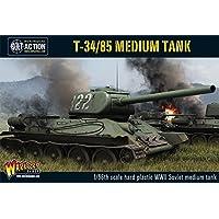 Warlord Games 1/56 WWII T-34/85 Medium Soviet Tank # WgB-RI-500 by Warlord Games
