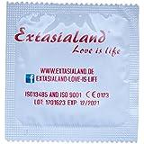 Extasialand Condones de marca 100 condones ultra finos y especialmente delgados en el práctico formato ahorro Preservativos ultra finos para la máxima sensación