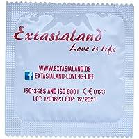 Extasialand Markenkondome 100 Kondome extra dünn und hauchzart im praktischen Sparpack Präservative extra thin... preisvergleich bei billige-tabletten.eu