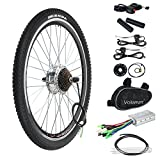 "Voilamart 36V 250W 26"" Rear Wheel Electric Bicycle Conversion Motor Kit E-bike Cycling"