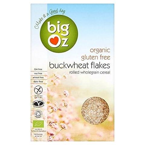 Big Oz Gluten-freie Bio Buchweizenkissen Haferflocken 500g (Packung von 2)