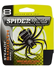 Spiderwire - STEALTH SMOOTH 8 - YELLOW - 150 M