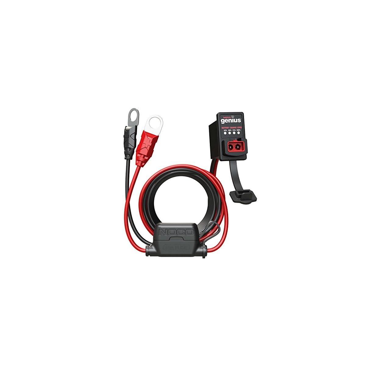 511v43AQRsL. SS1200  - Noco GC016 Genius Dashmount Indicador de Carga de Batería, 12V