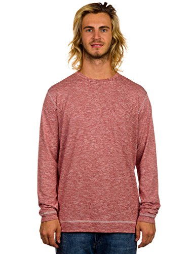 Quiksilver Lindow Crew T-Shirt LS rosewood heather / rouge Taille rosewood heather/rouge