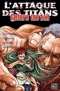 L'Attaque des Titans - Before the Fall Edition simple Tome 2