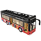 Sita Ram Retails- Kid's Metal Die-Cast Luxury Pull Back Double Decker London Bus