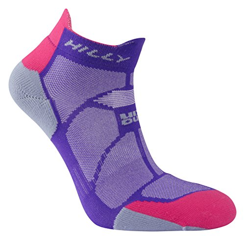 hilly-womens-marathon-fresh-socklet-running-socks-purple-pink-grey-small