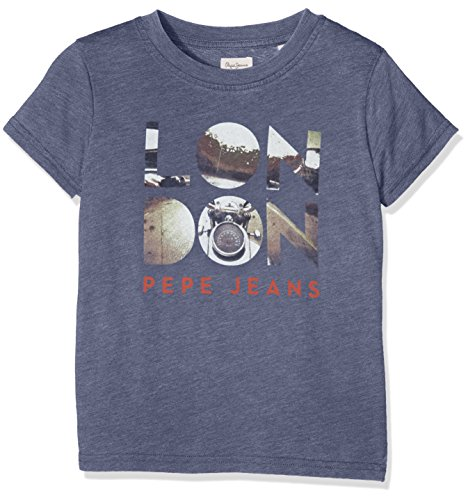 pepe-jeans-julius-t-shirt-garcon-bleu-navy-fr-14-ans-taille-fabricant-14-ans