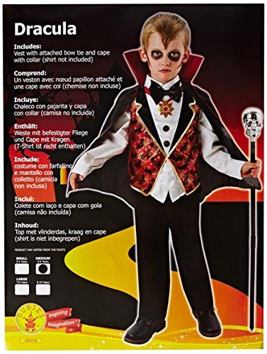 Dracula - Kids Costume 5 - 6 (Dracula Kid Kostüme)