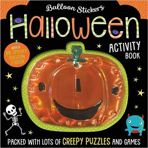 Halloween Activity Book (Scratch and Sparkle)