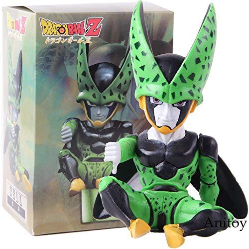 Dragon Ball Z Dragon Ball Célula Figura Q Versión PVC DBZ Figura de acción Modelo de colección Juguete
