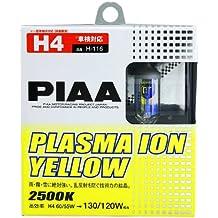 PIAA PL H116 Plasma Ion, H4-Set de bombillas halógenos, color amarillo
