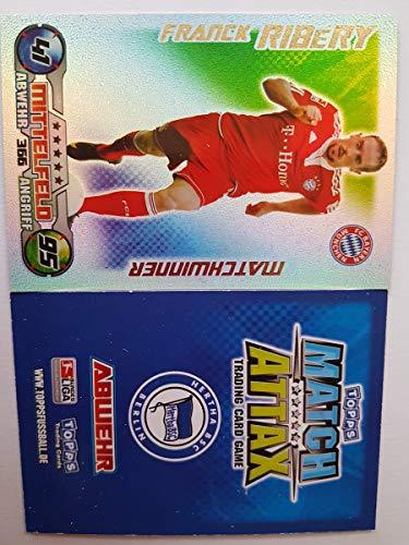 Match Attax Topps 2009 2010 - Trading Cards Matchwinner: MÜNCHEN - Ribbery (Topps-fußball-2010)