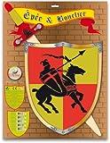 Ulysse Couleurs d'enfance - 3861 - Déguisement - Épée et Bouclier Chevalier