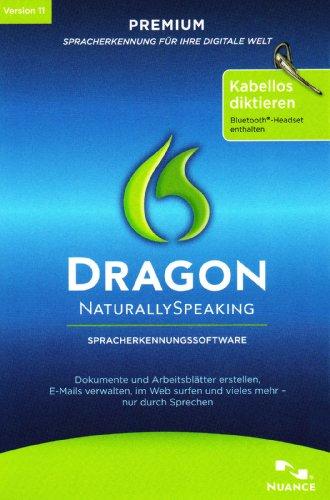 Dragon Naturally Speaking Premium Wireless inkl. Headset V11.0