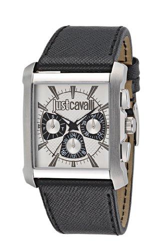 Just Cavalli Men's Quartz Watch R7251119003 with Leather Strap