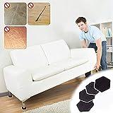 Global Brands Online 4 Stücke Möbel Moving Sliders Mover Pads Moving Möbel Gleiter Holzbodenschutz