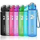 ZOUNICH Sport Trinkflasche BPA frei Auslaufsicher Wasserflasche 500ml
