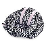 Kinderzimmer Baby Sitzkissen Boden Unterstützung Sitz Stuhl Plüsch Sitzsack für Spielzimmer Wohnzimmer Sofa (Leopardenprint)