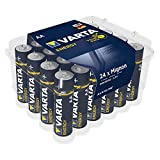 Varta Batterien Energy AA Mignon Alkaline Batterie - 24er Pack Vorteilspack