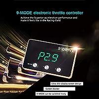 Ocamo Regulador electrónico del Acelerador del Coche para modificar el Amplificador Auto del Pedal del Gas del Centro para BMW