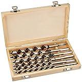 5 tlg Set 460mm 8-16mm Schlangenbohrer Holzbohrer Holzschlangenbohrer Set Holz