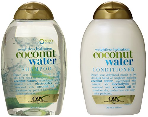 OGX Weightless Hydration Coconut Water Shampoo & Conditioner