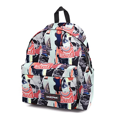 Eastpak Zaino Casual, 24 L, Multicolore (Red Mix)