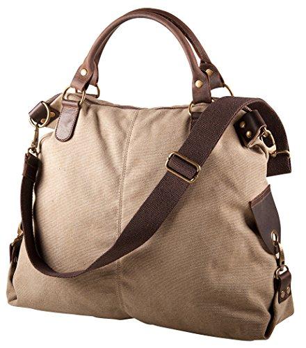 Pelle Italy Damen Shopper Tasche A4 40x38x13 cm (BxHxT), Farbe:Apricot Apricot