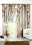 #6: B7 CREATIONS Digital Print Floral Polyester (Matte) Eyelet Window Curtain 1 Piece - (54x60 Inch / 4.5x5 Feet Approx), Multicolor
