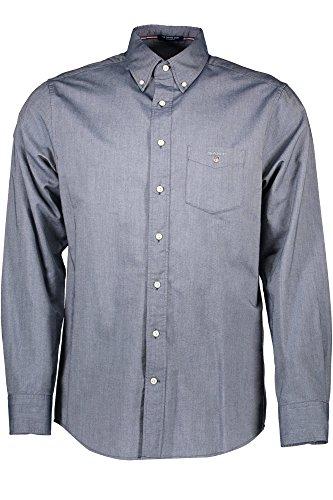 GANT 1603.371000 Hemd mit langen Ärmeln Harren BLU 442 L (Blu-hemd)