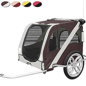 Leopet Dog Bike Trailer Pet Bicycle Stroller - Desert Palm