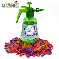abeec Balloon Pump - Either Make Balloons or Water Balloon Bombs - Includes 300 Balloons