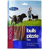 Hollings pizzles Bully Sticks para perro Chew