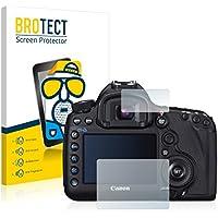 2x BROTECT Protector Pantalla para Canon EOS 5D Mark III - Mate, Película Antireflejos