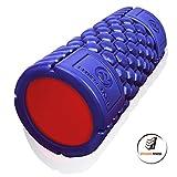 Muscle Foam Roller – Schaumstoffrolle zur Selbstmassage und für Pilates, CrossFit, Yoga, Laufen, Physiotherapie, Linderung myofaszialer Schmerzen - 6