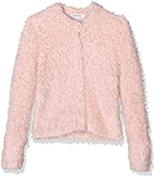 3Pommes Girl's Little Dream Cardigan, Pink (Old Pink), 3-4 Years