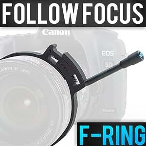 Foton FRG14 Bague de focalisation pour caméscopes et DSLR diamètre 80-85mm