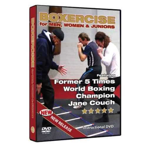 Boxen – Fitness (Boxercise für Männer, Frauen und Kinder) demonstriert für Männer, Frauen & Kinder. Diese DVD lehrt Sie wie Sie durch Boxercise / Techniken des Boxtrainings fit werden. (Pal)